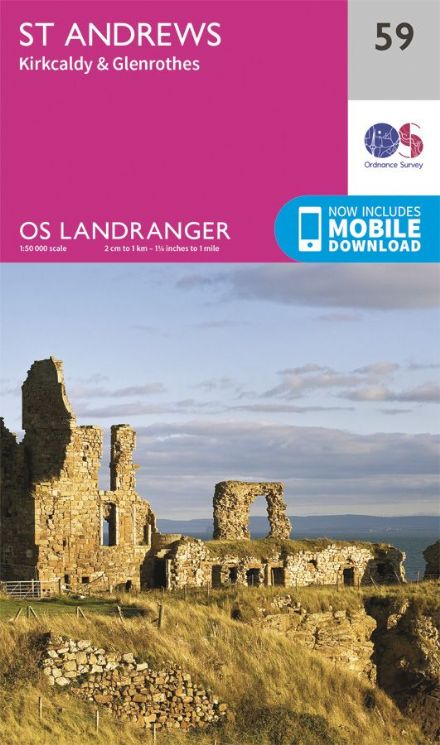 OS Landranger 59 St Andrews and Kilcaldy